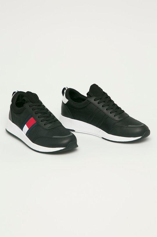Tommy Jeans - Topánky čierna