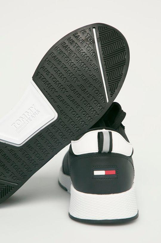 Tommy Jeans - Topánky  Zvršok: Textil, Prírodná koža Vnútro: Textil Podrážka: Syntetická látka