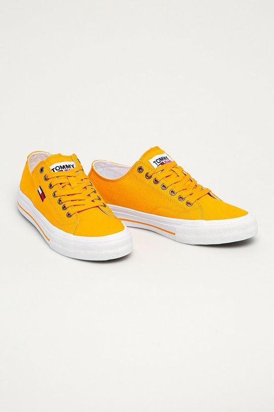Tommy Jeans - Tenisky oranžová