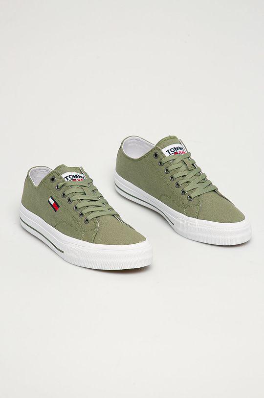 Tommy Jeans - Tenisi galben – verde