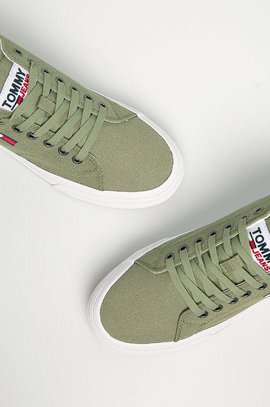žlto-zelená Tommy Jeans - Tenisky