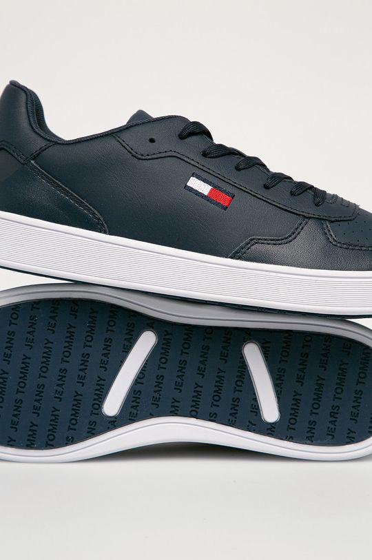 granatowy Tommy Jeans - Buty skórzane