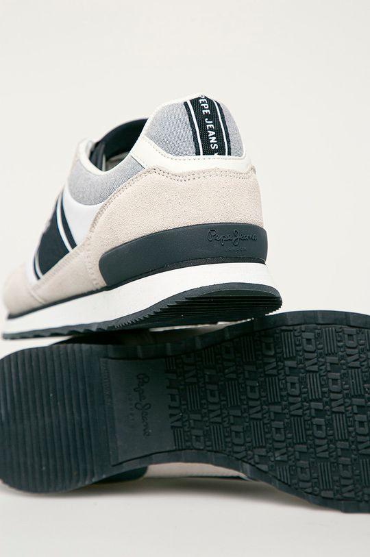 Pepe Jeans - Pantofi Cross 4 Sailor  Gamba: Material textil, Piele naturala Interiorul: Material textil Talpa: Material sintetic
