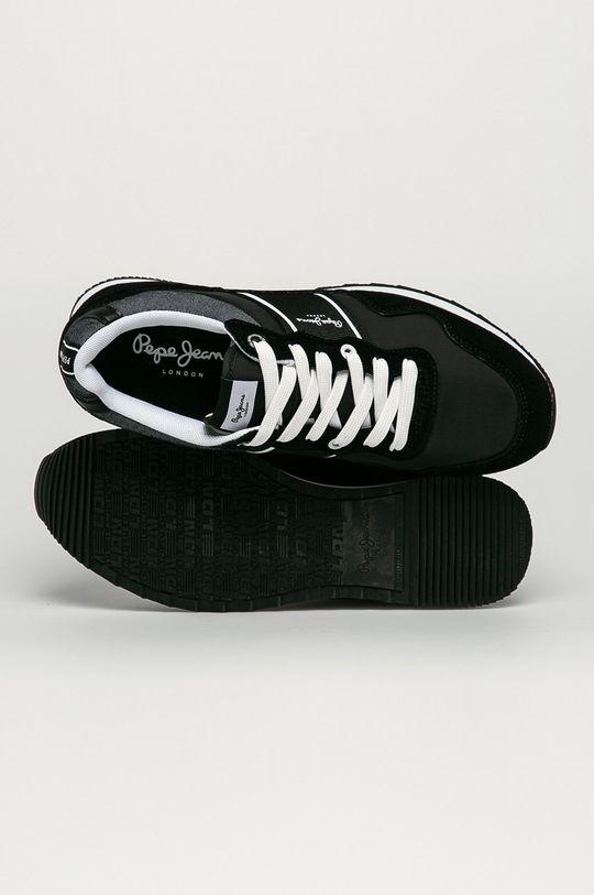 čierna Pepe Jeans - Topánky Cross 4 Sailor
