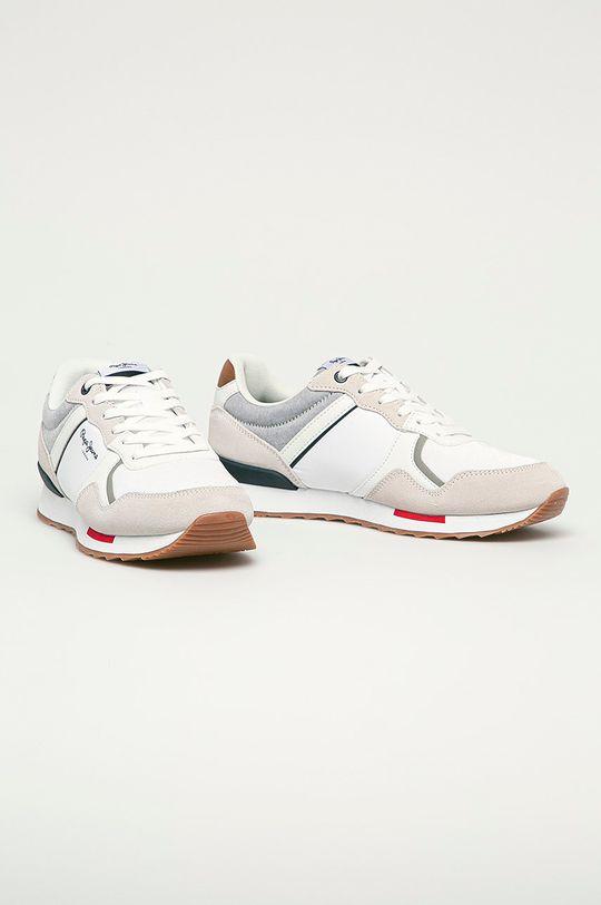 Pepe Jeans - Pantofi Cross alb