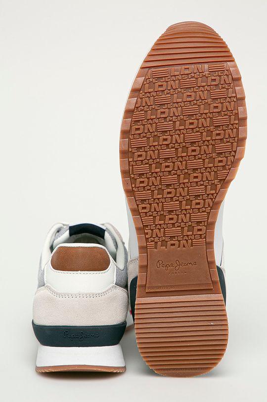 Pepe Jeans - Pantofi Cross  Gamba: Material textil, Piele naturala Interiorul: Material textil Talpa: Material sintetic