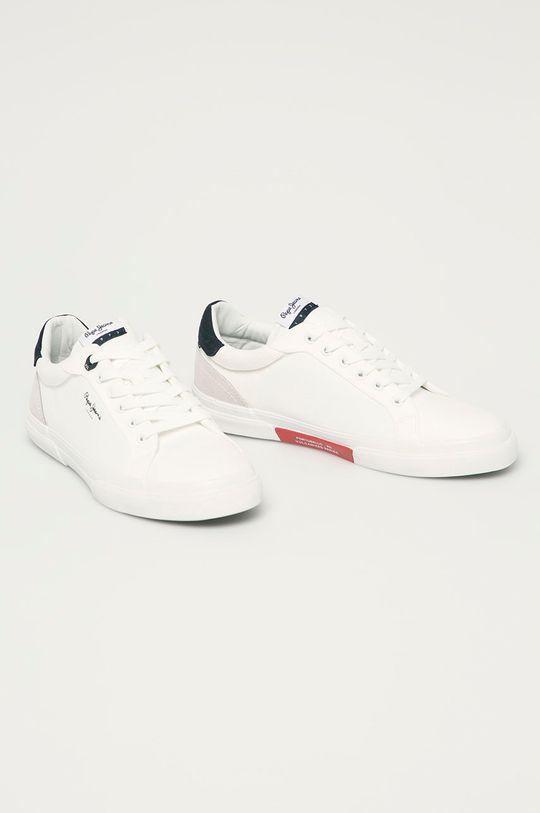 Pepe Jeans - Pantofi Keton Classic alb