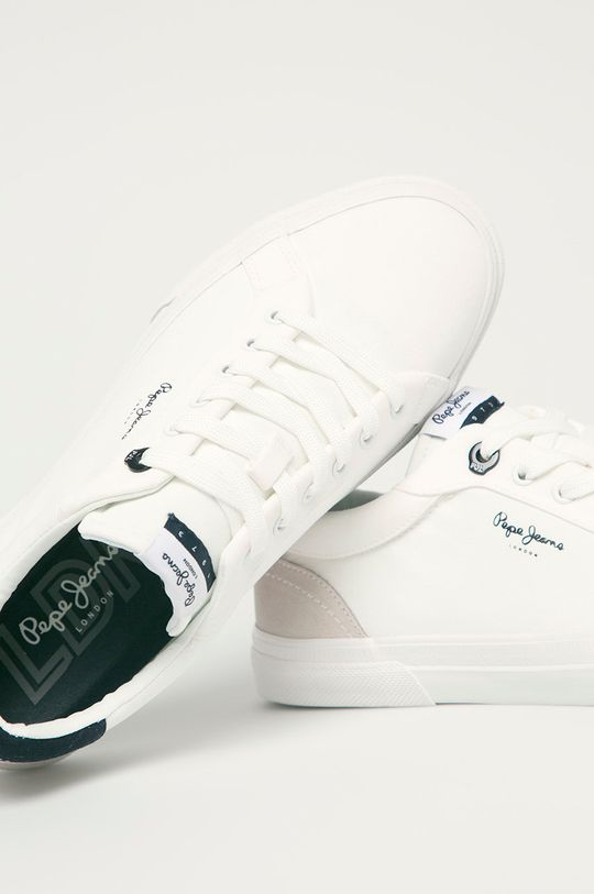 alb Pepe Jeans - Pantofi Keton Classic