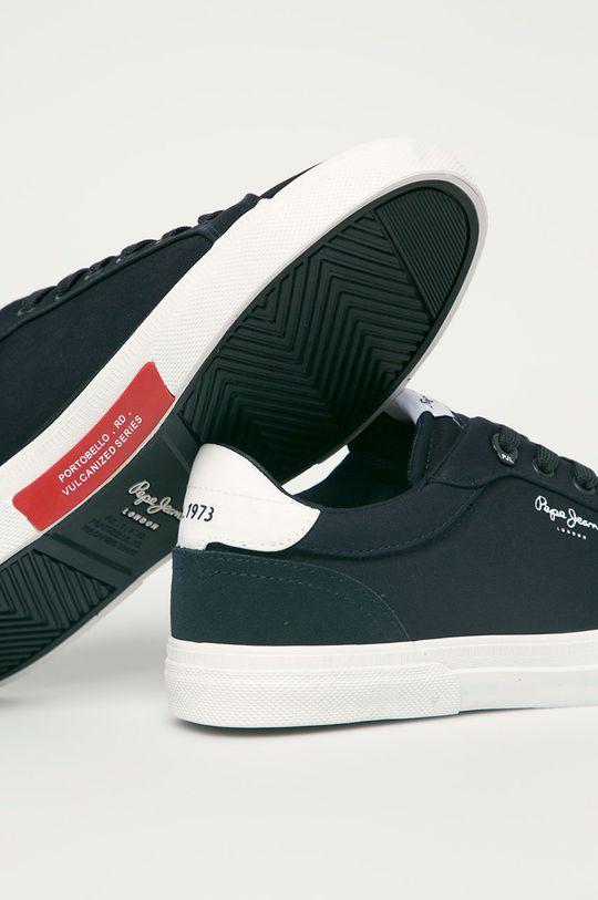 Pepe Jeans - Pantofi Keton Classic  Gamba: Material sintetic, Material textil Interiorul: Material textil Talpa: Material sintetic