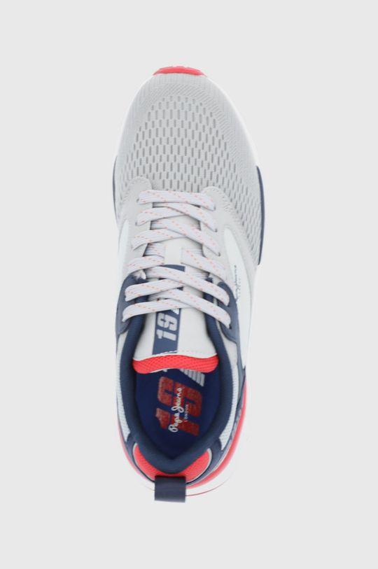 svetlosivá Pepe Jeans - Topánky Trail Ligh Knit