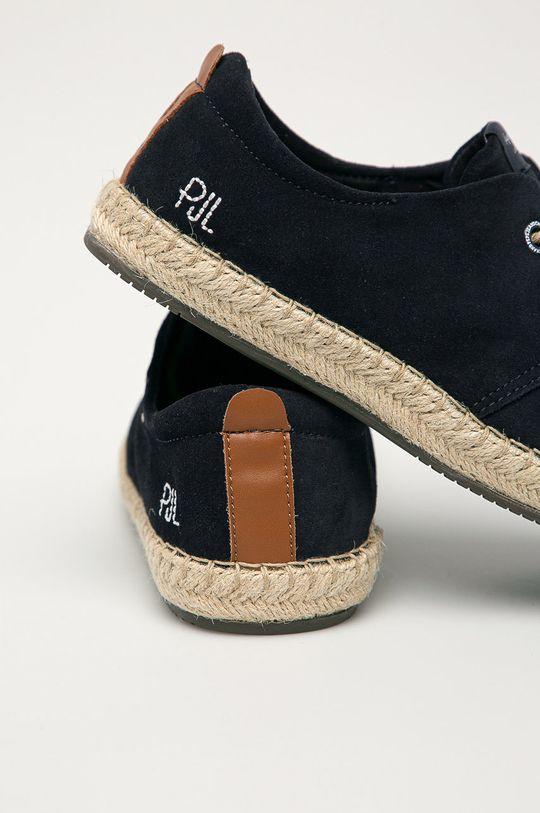Pepe Jeans - Espadrilky Tourist C-Smart  Svršek: Textilní materiál Vnitřek: Textilní materiál Podrážka: Umělá hmota