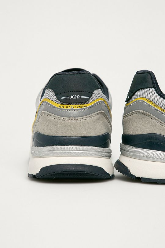 Pepe Jeans - Pantofi Monochrome  Gamba: Material sintetic, Material textil Interiorul: Material textil Talpa: Material sintetic