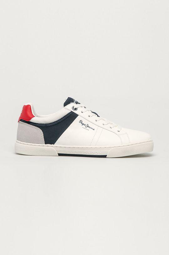 biały Pepe Jeans - Buty Rodney Sport Męski