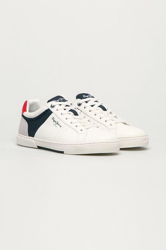 Pepe Jeans - Buty Rodney Sport biały