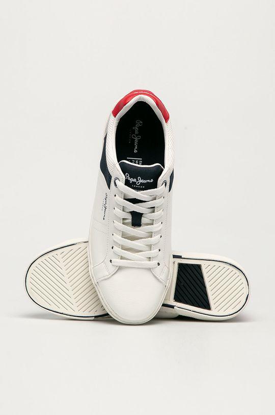 biały Pepe Jeans - Buty Rodney Sport