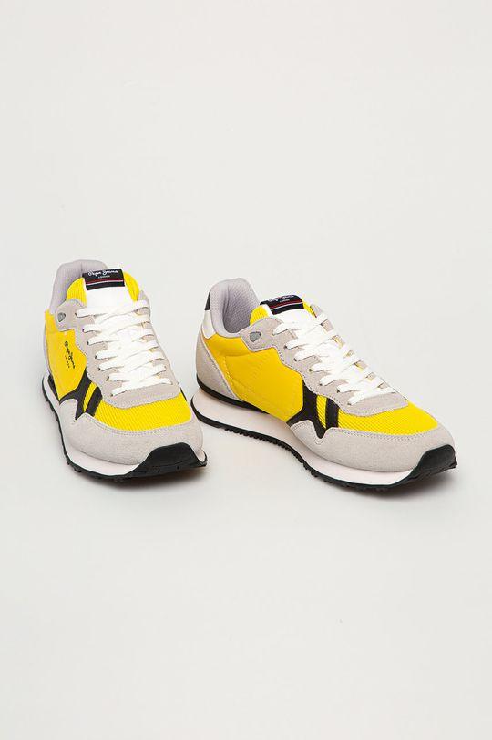 Pepe Jeans - Buty Britt Man Basic żółty