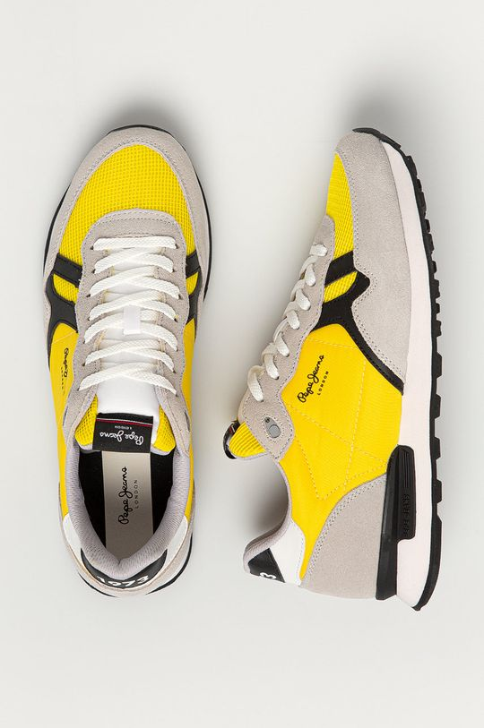 żółty Pepe Jeans - Buty Britt Man Basic