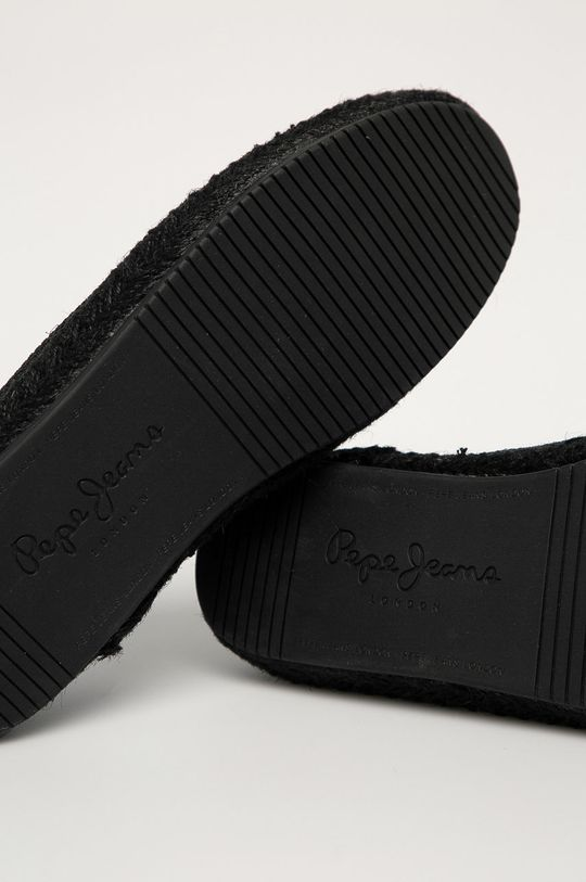 černá Pepe Jeans - Espadrilky Tourist Sailor Knit