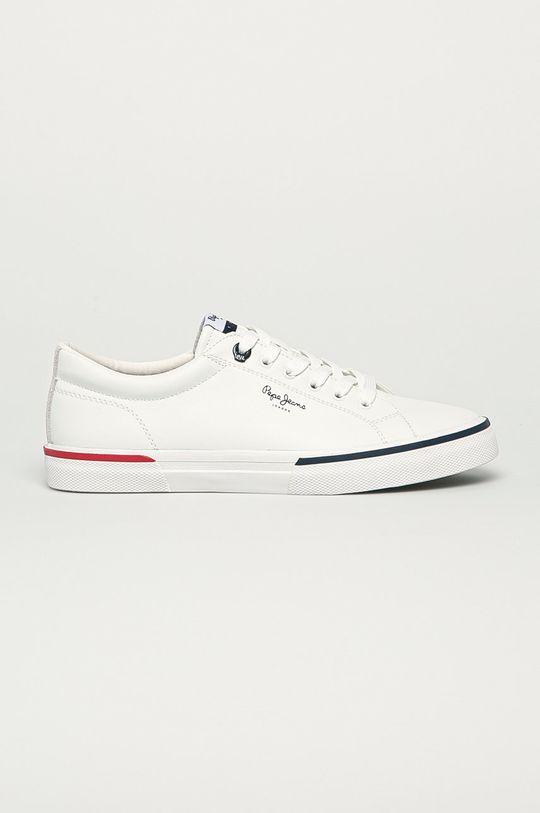 alb Pepe Jeans - Pantofi Kenton Smart Court De bărbați