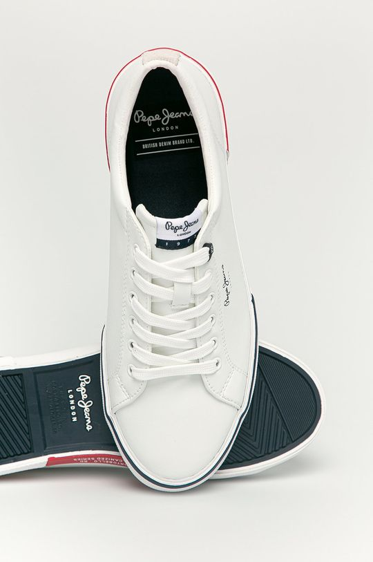 Pepe Jeans - Pantofi Kenton Smart Court  Gamba: Material sintetic Interiorul: Material textil Talpa: Material sintetic