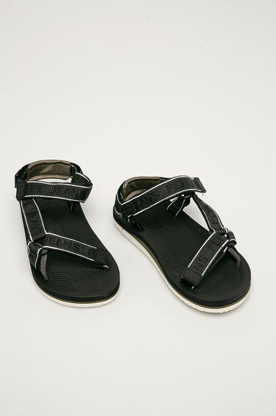 Pepe Jeans - Sandály South Beatch Treck černá