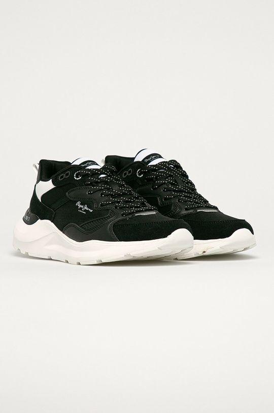 Pepe Jeans - Pantofi Brooks negru