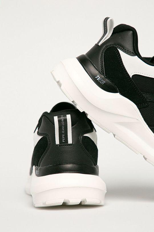 Pepe Jeans - Pantofi Brooks  Gamba: Material sintetic, Material textil Interiorul: Material textil Talpa: Material sintetic