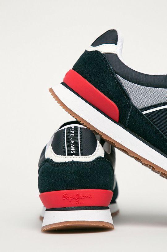 Pepe Jeans - Pantofi Chambray  Gamba: Material textil, Piele intoarsa Interiorul: Material textil Talpa: Material sintetic