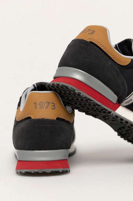 Pepe Jeans - Topánky Tinker Zero 21  Zvršok: Textil, Prírodná koža Vnútro: Textil Podrážka: Syntetická látka