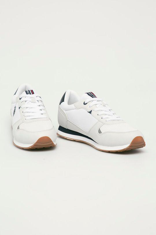 U.S. Polo Assn. - Buty biały