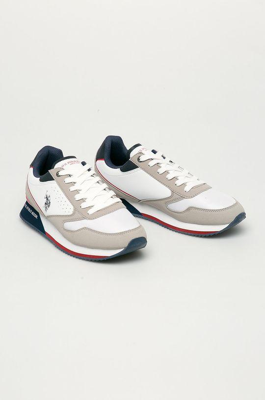 U.S. Polo Assn. - Topánky biela