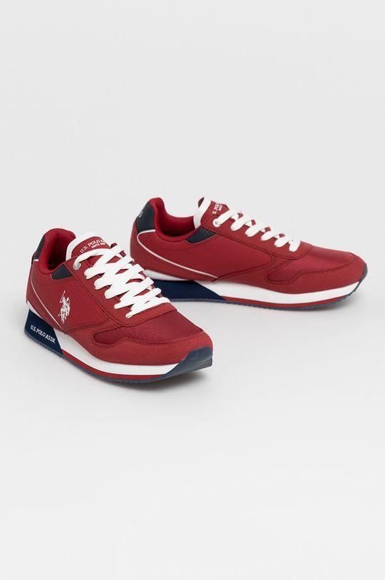 U.S. Polo Assn. - Boty červená
