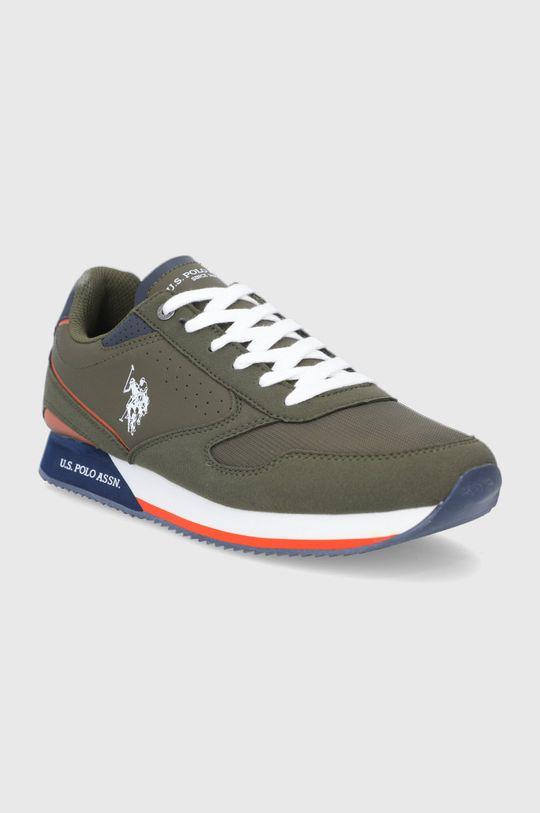 U.S. Polo Assn. - Topánky vojenská zelená