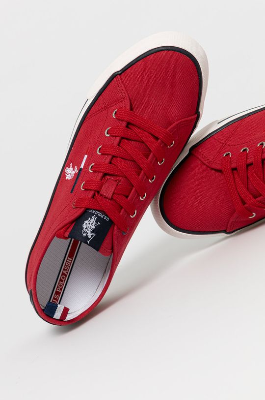 czerwony U.S. Polo Assn. - Tenisówki