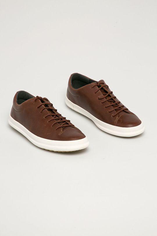 Camper - Kožená obuv Chasis hnedá
