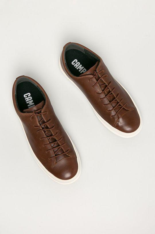hnedá Camper - Kožená obuv Chasis