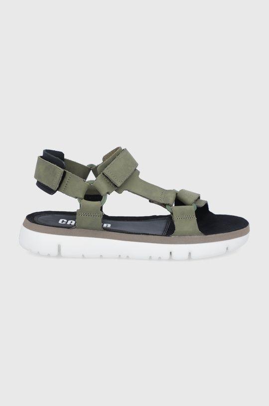 olivová Camper - Kožené sandále Oruga Pánsky
