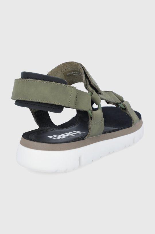 Camper - Kožené sandále Oruga  Zvršok: Koža s povlakom Vnútro: Textil, Prírodná koža Podrážka: Syntetická látka