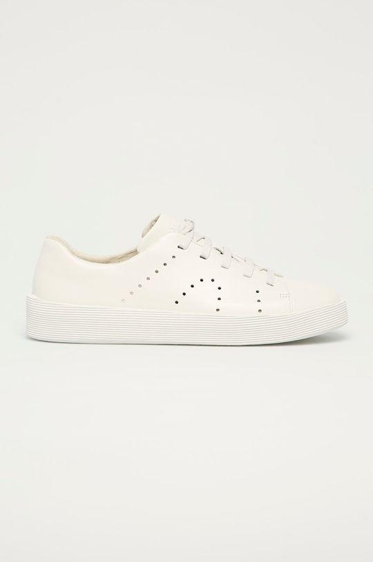 bílá Camper - Kožené boty Courb Pánský