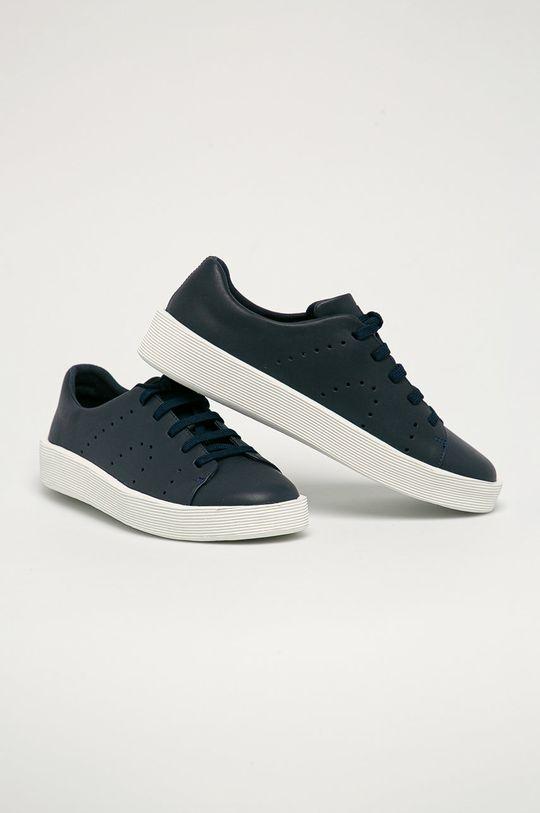 Camper - Kožené boty Corub námořnická modř