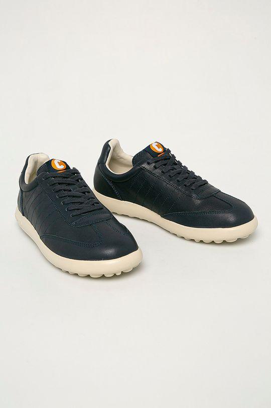 Camper - Kožené boty Pelotas námořnická modř