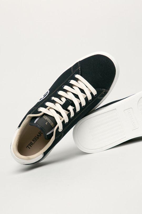 tmavomodrá Trussardi Jeans - Topánky