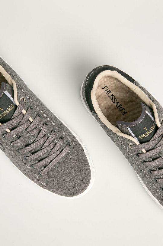 sivá Trussardi Jeans - Topánky