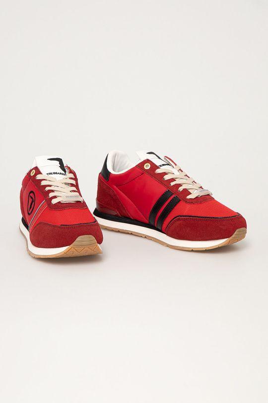 Trussardi Jeans - Boty červená