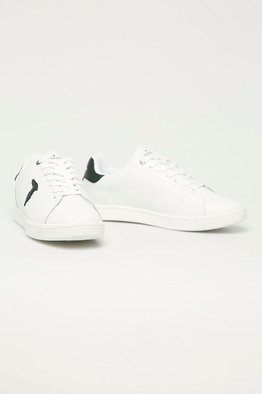 Trussardi Jeans - Ghete de piele alb