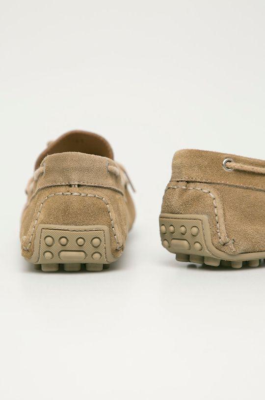 Trussardi Jeans - Semišové mokasíny  Zvršok: Semišová koža Vnútro: Prírodná koža Podrážka: Syntetická látka