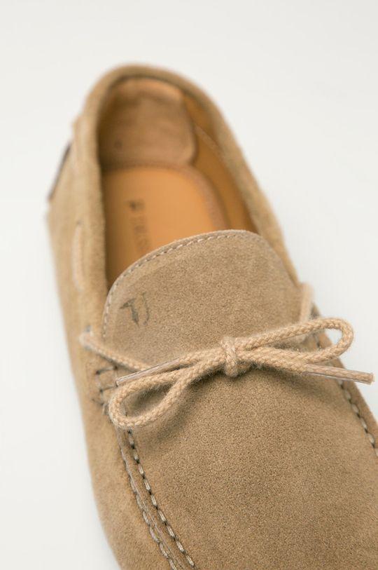 Trussardi Jeans - Semišové mokasíny Pánsky