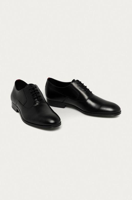 Hugo - Pantofi de piele negru