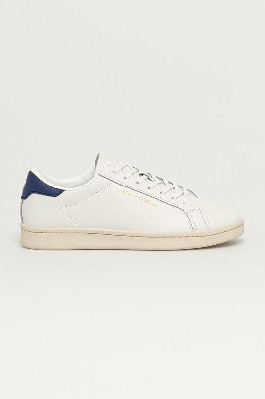 biela Marc O'Polo - Kožená obuv Pánsky