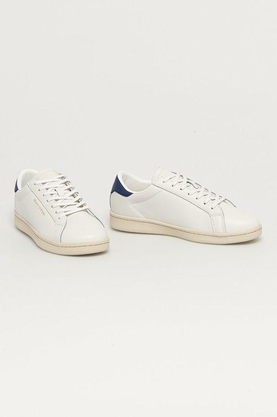 Marc O'Polo - Kožená obuv biela